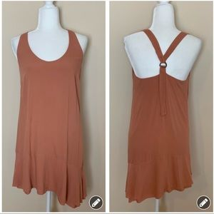 Gentle Fawn rose buckle racerback mini dress 1414